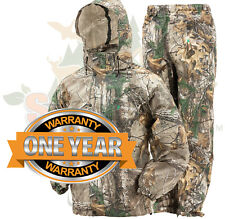 Camo Frogg Toggs All Sport Rain Suit Realtree XTRA Gear Jacket & Pants SM