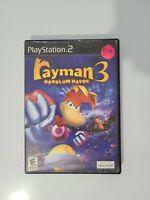 PS2 Rayman 3: Hoodlum Havoc Sony PlayStation 2 (2003) Tested No Manual
