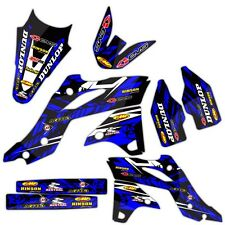 2006 2007 YZ 250F / YZ 450F GRAPHICS KIT DIRT BIKE MOTOCROSS YAMAHA DECALS SET