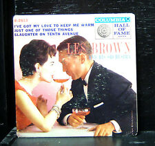 "Les Brown - I've Got My Love To Keep Me Warm VG+ 7"" Vinyl 1957 CBS B-2513"