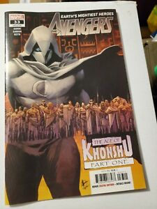 The Avengers #33 1st print Age of Khonshu Marvel Comics