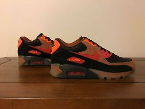 Nike Air Max 90  ' Halloween ' Shoes 717942-006 Size US 8.5