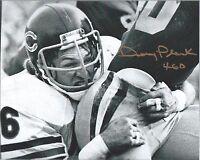 1975-1982 Chicago Bears Doug Plank Autograph Signed 8X10 Photo 46 Defense