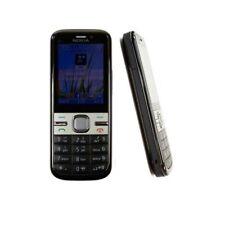 Gray Original Nokia C5-00I 5MP Unlocked Bluetooth  Hebrew Keyboard Mobile Phone