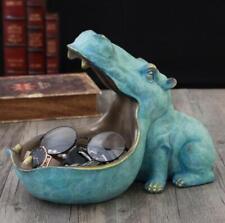Hippopotamus Hippo Statue Figurine Resin Artware Sculpture HOME Decor Statue