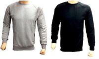 Mens Designer Club Star Zip Plain Sweatshirt Jersey Jumper Sweater Pullover Top