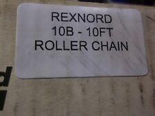 "REXNORD 10B-1 ROLLER CHAIN 83"" PARTIAL BOX"