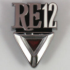 RE12 metal boot badge chrome, New for Mazda RX3 RE-12 Rotary Coupe Savanna 808
