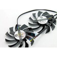 2pcs/set for MSI 460GTX 560GTX 570GTX 580GTX R6790 R6870 R6850HAWK Graphics fan