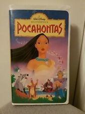 Walt Disney's Masterpiece Collection Pocahontas 1996 VHS Tape Clamshell Case
