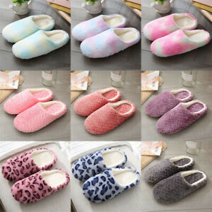 Warm Plush Indoor Slippers Women Soft Home Slipper Autumn Winter For Bedroom