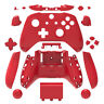 Red Matt Xbox One S Controller Full Custom Replacement Shell & Buttons Mod Kit
