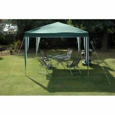 3 X 3M POP UP GREEN GAZEBO PARTY TENT WEDDING MARQUEE AWNING GARDEN OUTDOOR