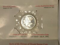 Heroes of Desert Storm $5 Commemorative Coin Republic of Marshall Islands 1991