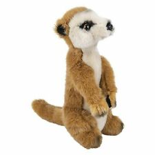 Wildlife Tree 8 Inch Stuffed Meerkat Plush Animal Kingdom Collection