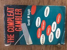 The Compleat Gambler by Gerald McKnight 1st Ed 1964 Casino Roulette Baccarat