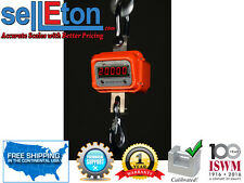 SellEton Heavy Duty Crane Scale Hanging Hoist Large Enclosure 20,000 lbs x 5 lb