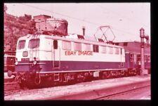 PHOTO  GERMAN RAILWAY LOCO E10 1244 RHEINGOLD IN KOBLENZ 1962