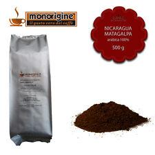 Caffè Arabica macinato fresco per espresso Nicaragua Matagalpa El Baron 500 gr