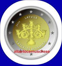2 euro 2020 LETTONIA Latgales Keramika Ceramica Lettonie Lettland Latvia Латвия