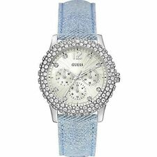 GUESS Silver Case Dress/Formal Wristwatches