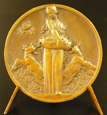 Médaille concours d'étalage 1935 étalagiste  Showcase contest 36 mm medal