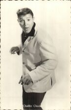 Singer Chubby Checker - Vintage c1950s-1960s Real Photo Postcard