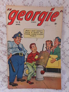 GEORGIE COMICS Vol. 1 No. 5 April 1946 GEM PUB. Vintge Collectable Comic book