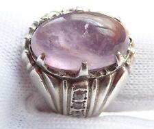AMETHYTY / KECUBUNG Handmade Male Ring