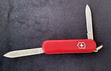 Vintage Victorinox Red Swiss Army Knife With Knife And Nail File