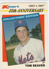1987 Topps KMart 25th Anniversary #21 Tom Seaver - New York Mets ab3