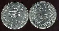 LIBAN   50   piastres 1969