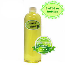 48 OZ/3 PINTS PURE SESAME OIL REFINED ORGANIC COLD PRESSED