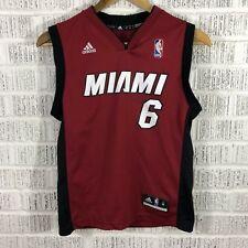 LeBron James Cleveland Cavs Adidas Nba Basketball Jersey Youth Medium