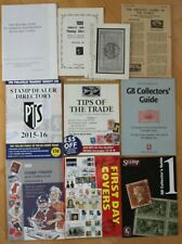 British First Day Covers Guide & Collection of Various Stamp Booklets