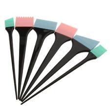 6pcs Kit Brosse en Silicone à Colorant Cheveux Coloration Teinture Coiffure