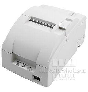 Epson TM-U220B POS Printer, Serial Interface, Cool White