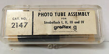 Vintage Graflex Photo Tube Assembly Cat. No. 2147 Stroboflash