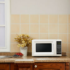 White Microwave W/ 10 Power Levels 0.7 Cu. Ft. 700 Watts Home Kitchen Counter