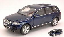 Volkswagen VW Touareg 2002 Blue 1:24 Model 2452BL WELLY