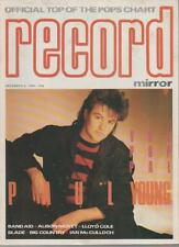 RECORD MIRROR MAGAZINE DECEMBER 8 1984  PAUL YOUNG   LS