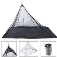 Moskitonetz Canopy Net Mesh für Einzelbett kompakt und ultraleicht für Camping