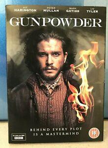 Gunpowder DVD Kit Harington Peter Mullan Mark Gatiss Liv Tyler