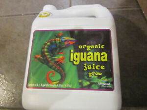 Advanced Nutrients Iguana Juice Grow Organic Fertilizer 4L