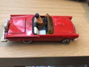 Vintage Corgi Ford Thunderbird Original  1980 Model Good Condition