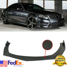 Carbon Front Bumper Lip Body Kit Spoiler For Mercedes Benz W205 W204 W212 Amg