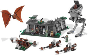 LEGO Star Wars Set 8038 The Battle of Endor Near COMPLETE AT-ST Minifigures
