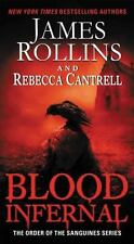 """James Rollins """"Blood Infernal"""" Paperback"""