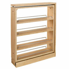 Rev-A-Shelf 6-Inch Wood Base Pullout Between Cabinet Kitchen Storage (Used)