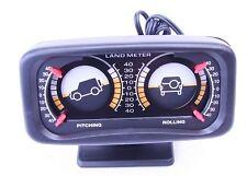 Retroilluminato a doppia pendenza Pitch and Roll LAND Meter per soddisfare tutti i veicoli FUORI STRADA